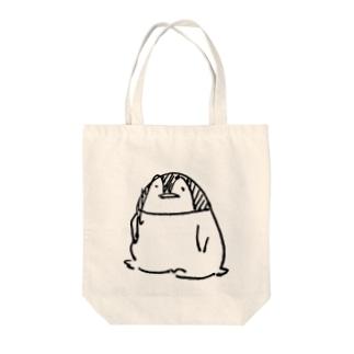 おすわりペンギン トートバッグ