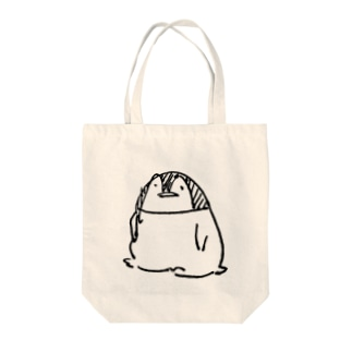 おすわりペンギン Tote bags