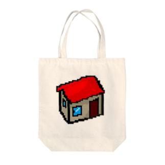 絵本作家大川内優のオリジナル絵本グッズショップの家アイコン Tote bags