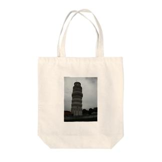 ピサの斜塔 Tote bags