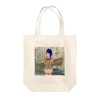 萌 Tote bags