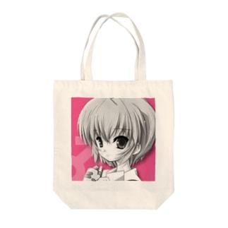 びおジャックローズ Tote bags