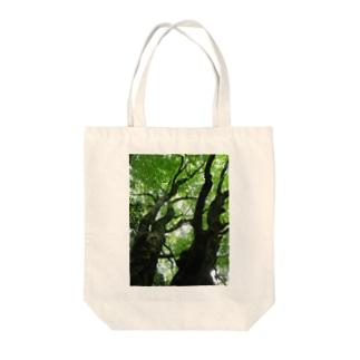 森林浴 Tote bags