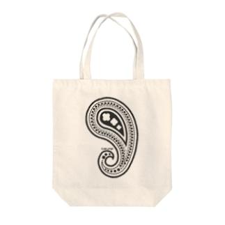 001_koujiのペイズリー Tote bags