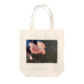 とりぶん Tote bags