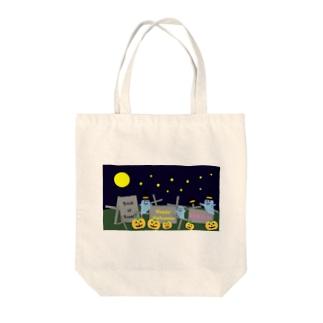 HAPPYHALLOWEEN Tote bags