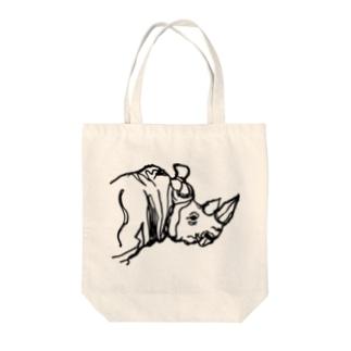 犀 Tote bags