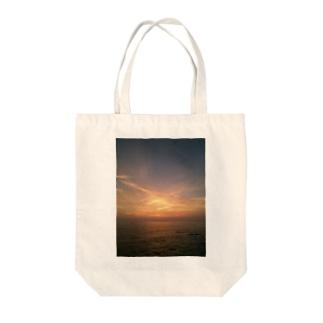 夕日2 Tote bags