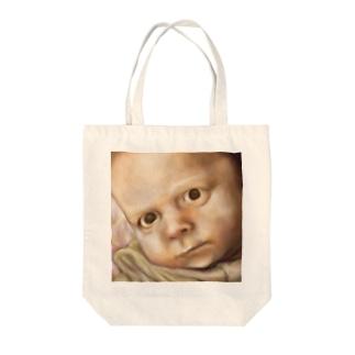 まなこざし Tote bags