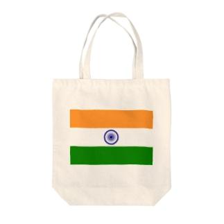 インド国旗 Tote bags
