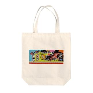 ZEBRA ONE 1st Tote bags