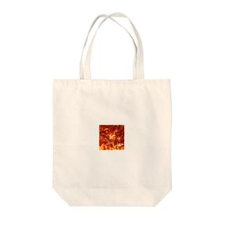 燃える薔薇 Tote bags