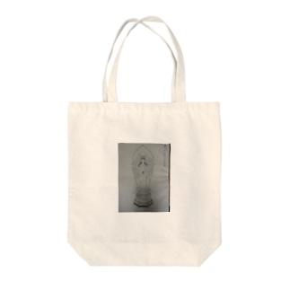 仏像グッズ Tote bags