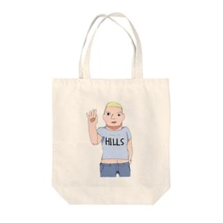 エリーチカ Tote bags