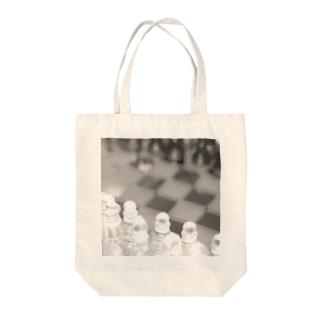 チェス Tote bags