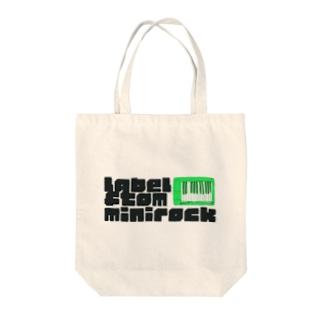 label ftom minirock Tote bags