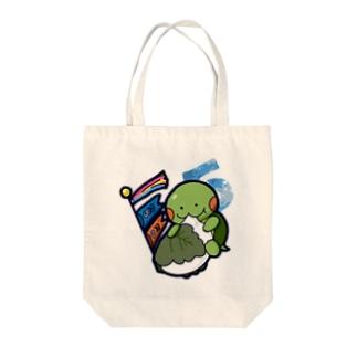 かめ吉・May Tote bags