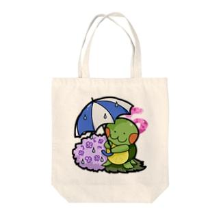 かめ吉・June Tote bags