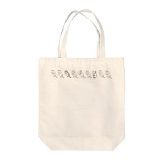 ねこ量産 Tote bags