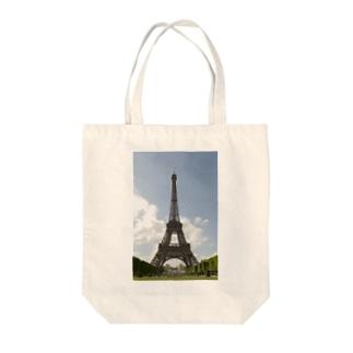 WANWANのパリ・エッフェル塔 Tote bags