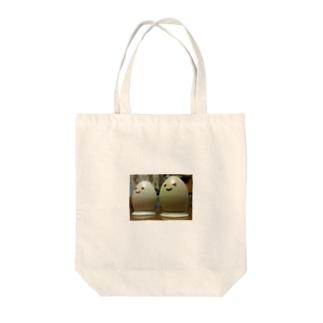 たまご。 Tote bags
