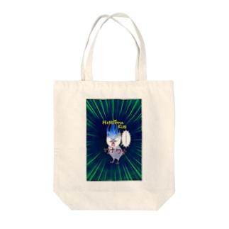 FreeComicHIROの火の玉KUN Tote bags