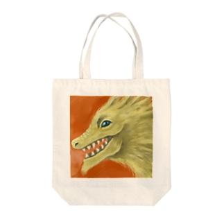 ご利益ドラゴン Tote bags