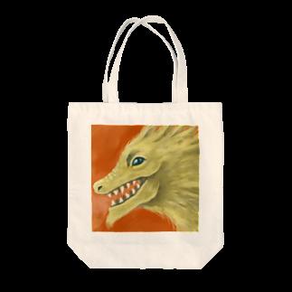 シモニタ研究所売店のご利益ドラゴン Tote bags