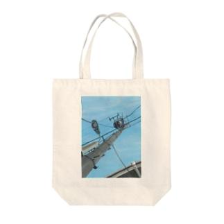 電柱 Tote bags