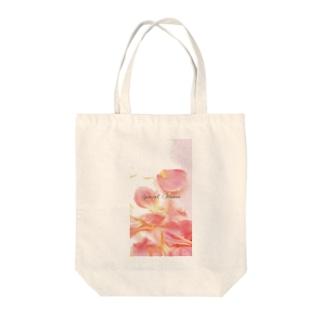 ♡ピンクカーネーション2♡ Tote bags