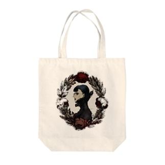 仙波ヨノツネの錦瑠璃彦の為の肖像 Tote bags