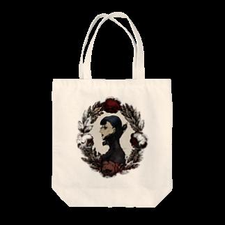 仙波ヨノツネの錦瑠璃彦の為の肖像トートバッグ