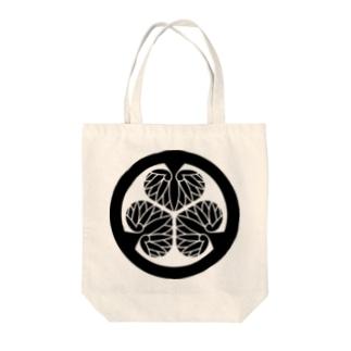 家紋 徳川葵 Tote bags