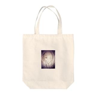 諌山 Tote bags