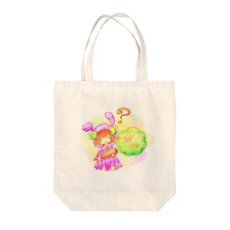 にんじんうさぎ Tote bags