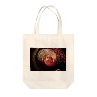 回転花火#002 Tote bags