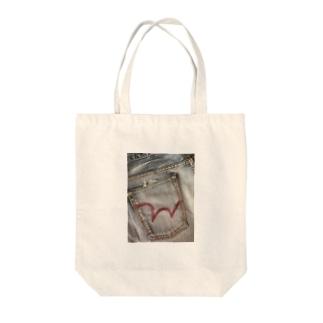 ジーンズポケット(Type1) Tote bags