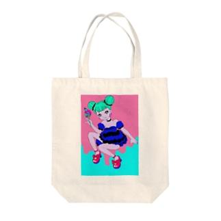 wacaのcandy*girl Tote bags