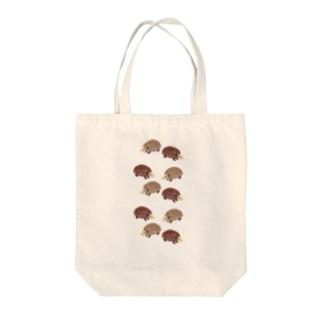北欧ハリネズミ Tote bags