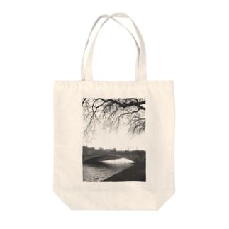 bridge Tote bags