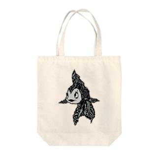 EXTREME KINGYO Tote bags