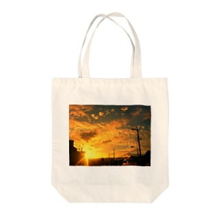 Sunset1 Tote bags