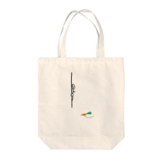 さよりのワナうさぎ Tote bags