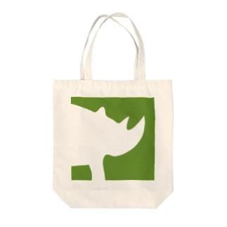 サイのひとb Tote bags