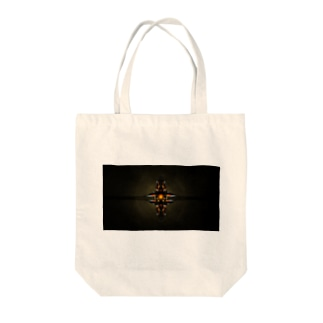 たくやですよのCross Red Tote bags