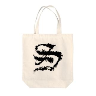 TRIBAL S LOGO Tote bags
