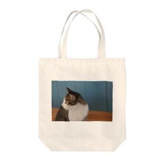 美人ぬこ Tote bags