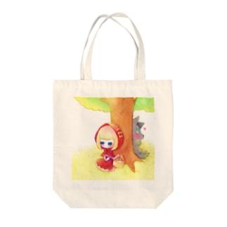すやずきんちゃん Tote bags