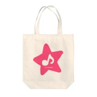 minoliDestiny PINK STAR Tote bags