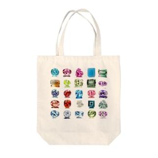 宝石 Tote bags